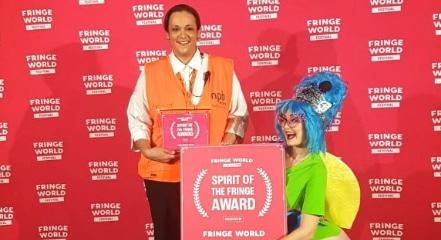 """Spirit of the Fringe Award"""