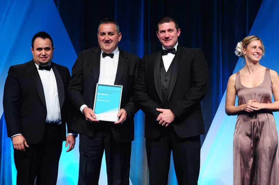 Telstra business award